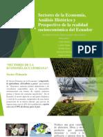 Sectores de La Economía, Análisis Histórico y