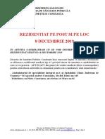inatentiacandidatilorcesevorinscrielaconcursulderezidentiatsesiunea8decembrie201