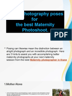 TOP 3 Photography poses for  the best Maternity Photoshoot.