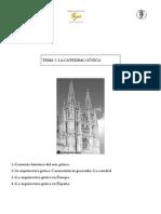 8. La catedral gótica