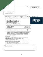 19728 05 as Pure Mathematics Practice Paper c