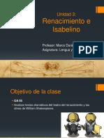 PPT El Renacimiento y Teatro Isabelino