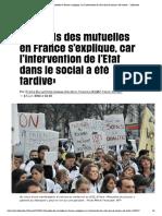 «Le poids des mutuelles en France s'explique, car l'intervention de l'Etat dans le social a été tardive» - Libération