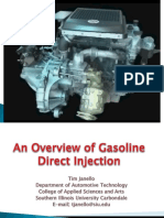 An Overview of Gasoline Direct Injection