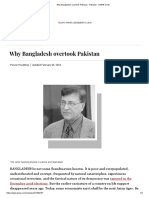 Why Bangladesh overtook Pakistan - Pakistan - DAWN.COM