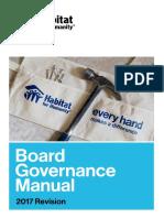 Board Governance Manual