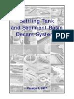 Settling-Tank-Decant
