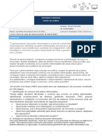 Matriz Ai Gerencimento Da Comunicacao e Stakeholders