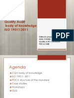 Audit Body of Knowledge