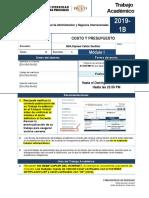 FTA-2019-1B-M1 COSTO Y PRES