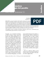 El Papa Francisco y La Teología Del Pueblo (Scannone)