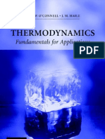 (eBook) Thermodynamics - Fundamentals for Applications - J.