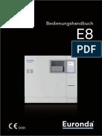 AUTOCLAVE euronda-bedienungsanleitung-e8