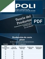Teoría del Productor 1