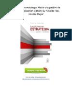 [G508.Book] PDF Download Lecciones en estrategia