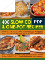 400 Slow Cooker One Pot Recipes PDF