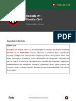 Princípios Do Direito Civil. LNDB. Decreto-Lei 4.657.1942