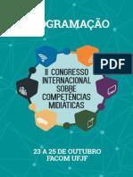 A perspectiva social das competências midiáticas - Caderno de Resumos II CICOM - 2017