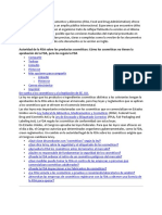 FDA Authority Spanish