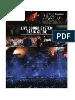 Sistema de sonido para auditorios