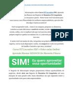 ➝ Curso FIT Lucrativo Como Funciona? Guia Planilha de Marmita Fitness