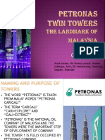 PETRONAS TWIN TOWERS kuala lampur , malaysia presentation.pptx