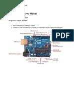 Arduino and Servo Motor Tutorial