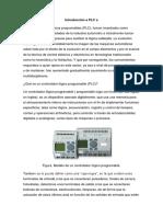 informacion sobre el PLC para el curso