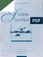 Sonatine Bucolique Sauguet