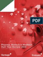 2019 Evaluate Pharma, Biotech, Medtech