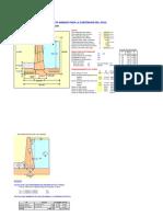 9 Calculo Estructural Bocatoma - Muro Bocal de Derivación