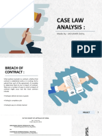 Case Law Analysis