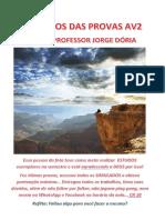 Gabaritos Das Provas Av2 Doria 2019.2