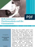 DH Lawrence Psychoanalysis