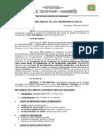 Resolución de Comite de Gestion de Riesgos 22 de Abril