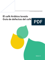 SCA the Arabica Green Coffee Defect Guide Spanish Updated