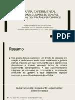 Apresentação Doutorado projeto Guitarra experimental (UFPR)