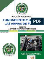 UNIDAD I. FUNDAMENTO Y USO DE LAS ARMAS DE FUEGO