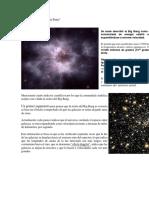 Qué Dice La Teoría Del Big Bang