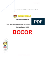 Sijil Peperiksaan Malaysia 2010 (SPM 2010) Bocor_NArenD GuNnEr