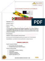 14.-Simulacion de La Voladura Superficial Con JK 2D Bench