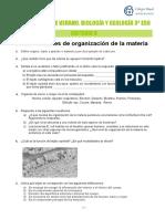 ACTIVIDADES DE VERANO. BIOLOGÍA Y GEOLOGÍA 3º ESO - PDF Descargar libre