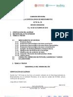Acta No. 12 de 2018 SEM