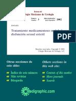Tratamiento Medicamentoso Oral de La Disfunción Sexual Eréctil - Bu023i.pdf