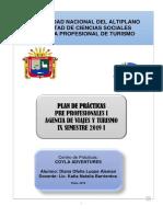 Plan de Practicas Pre Profesional de Agencia de Viaje i Estregar