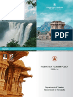 Karnataka Tourisum Policy and Guideline