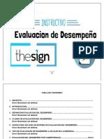 INSTRUCTIVO EVALUACION DEL DESEMPEÑO (1)