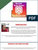Aprenda Como Vender No Instagram