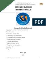 Monografía de Radio Onda Azul