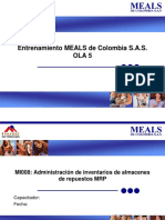MI008 Administración de inventarios de repuestos MRP